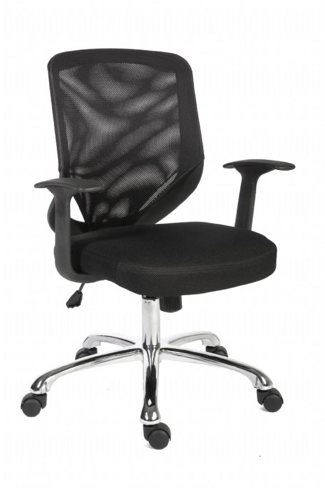 TEKNIK NOVA MESH Executive Chair With Mesh Back and Black Fabric seat